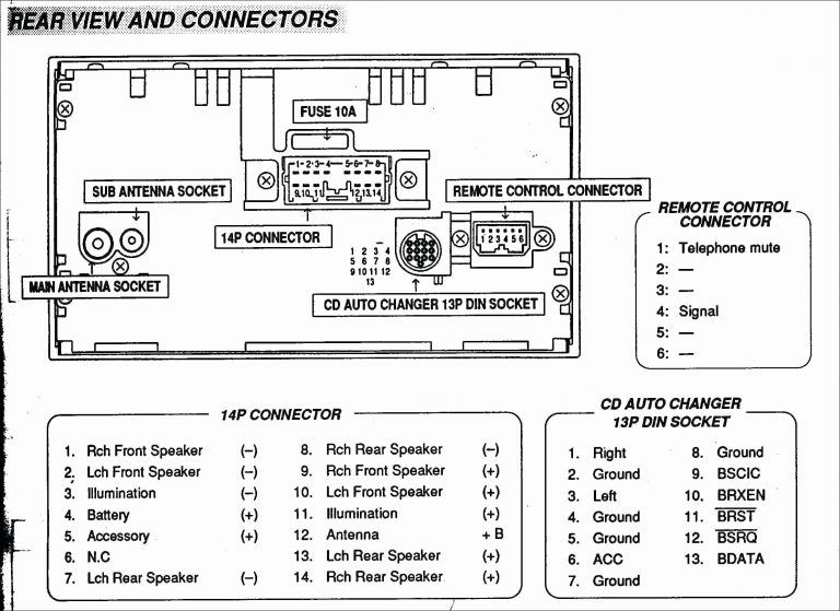 subwoofer wiring diagram 6  wire harness connectors ouku