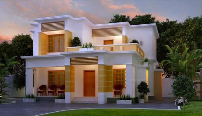 New Indian House Design Indian House Exterior Design Simple House Design Contemporary House Design