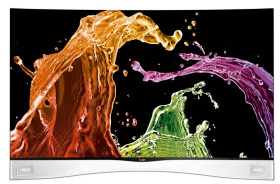 LG's new Curved OLED HDTV arrives in stores. Gadgets