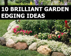 Ideas For Spectacular DIY Garden Balls | Pinterest | Edging ideas ...