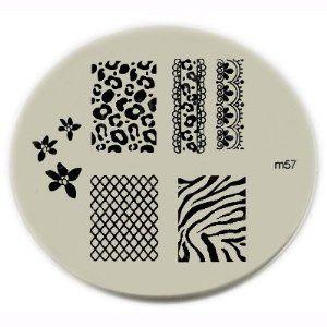 nail stamping plate.