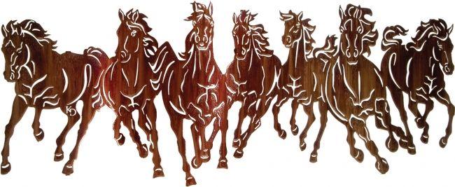40 Thunderstorm Running Horses Metal Wall Art Horse Wall Art Horse Wall Horses Wall Decor