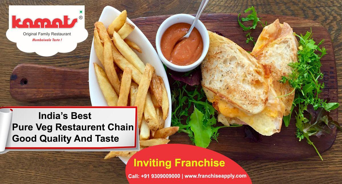 India S Best Pure Veg Restaurant Chain Good Quality And Taste Food Franchise Opportunity Veg Good Taste Franchsiedada Food Veg