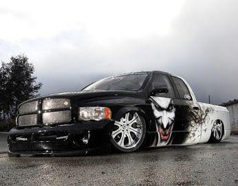 The Joker Dodge Ram Truck Dodge Ram Dodge Trucks Ram Dodge