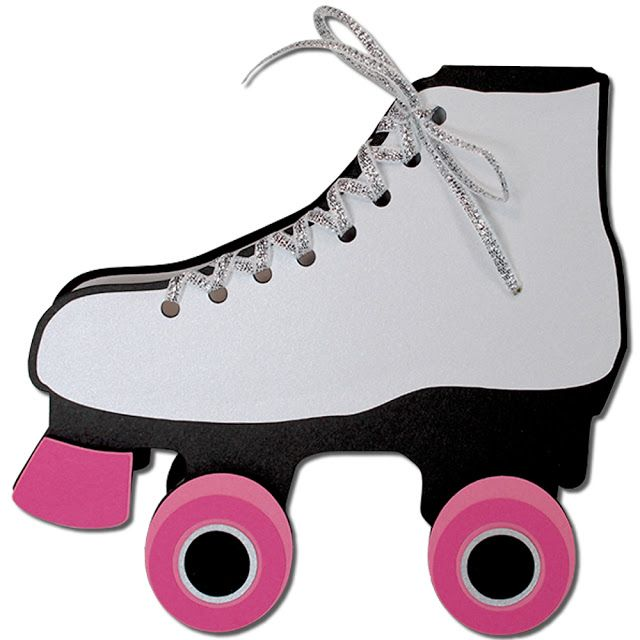 Roller Skate Card Roller Skate Birthday Roller Skating Party Roller Skate Invitations