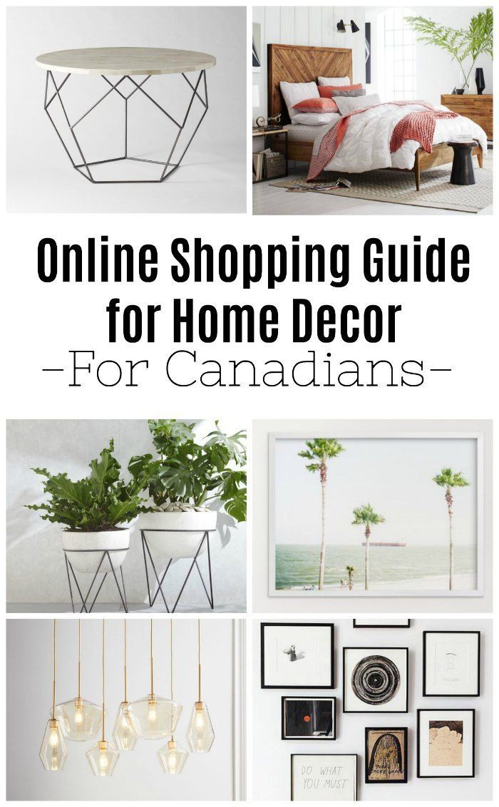 Online shopping guide of where to buy Furniture Online in Canada ...