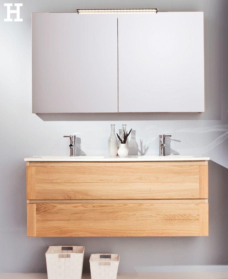 Der Hochwertige Waschtischunterschrank Der Serie Capri Bestehend Aus 2 Schubkasten Und Einem Keramik Doppel Badezimmer Einrichtung Badezimmer Badezimmerideen
