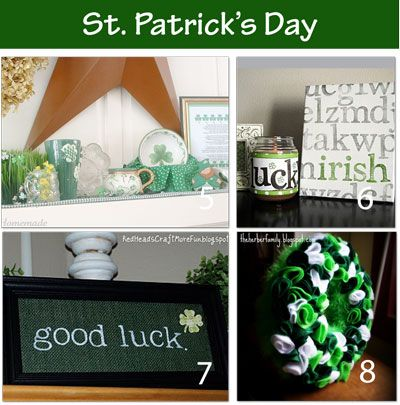 St Patrick Crafts - A Little Tipsy