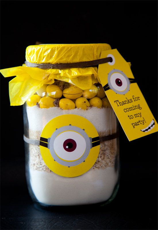 Minion Inspired Cookie Favor Tags and Labels by SunshineParties, $3.50