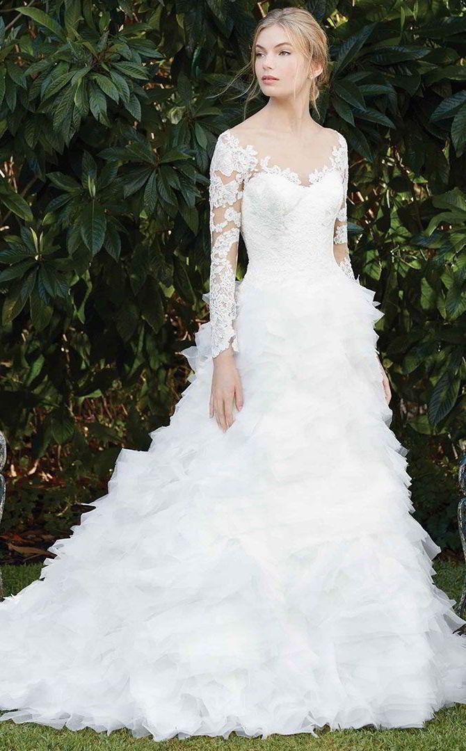 Casablanca Bridal Spring 2017 Wedding Dresses World of