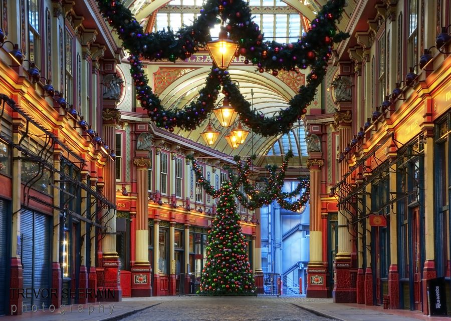 Leadenhall Market is a beautiful covered market in the