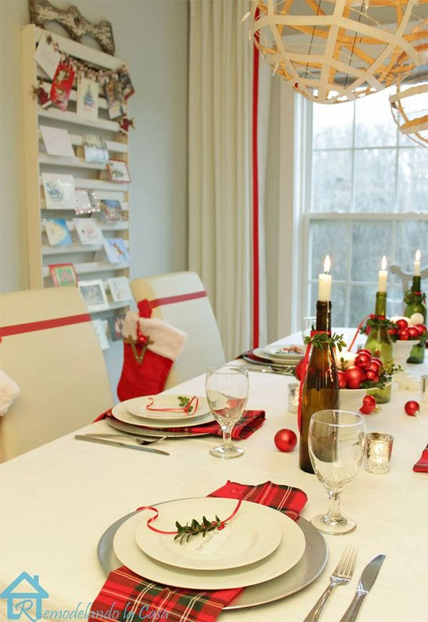 Christmas table decorations 30 gorgeous last-minute ideas Table - christmas table decorations
