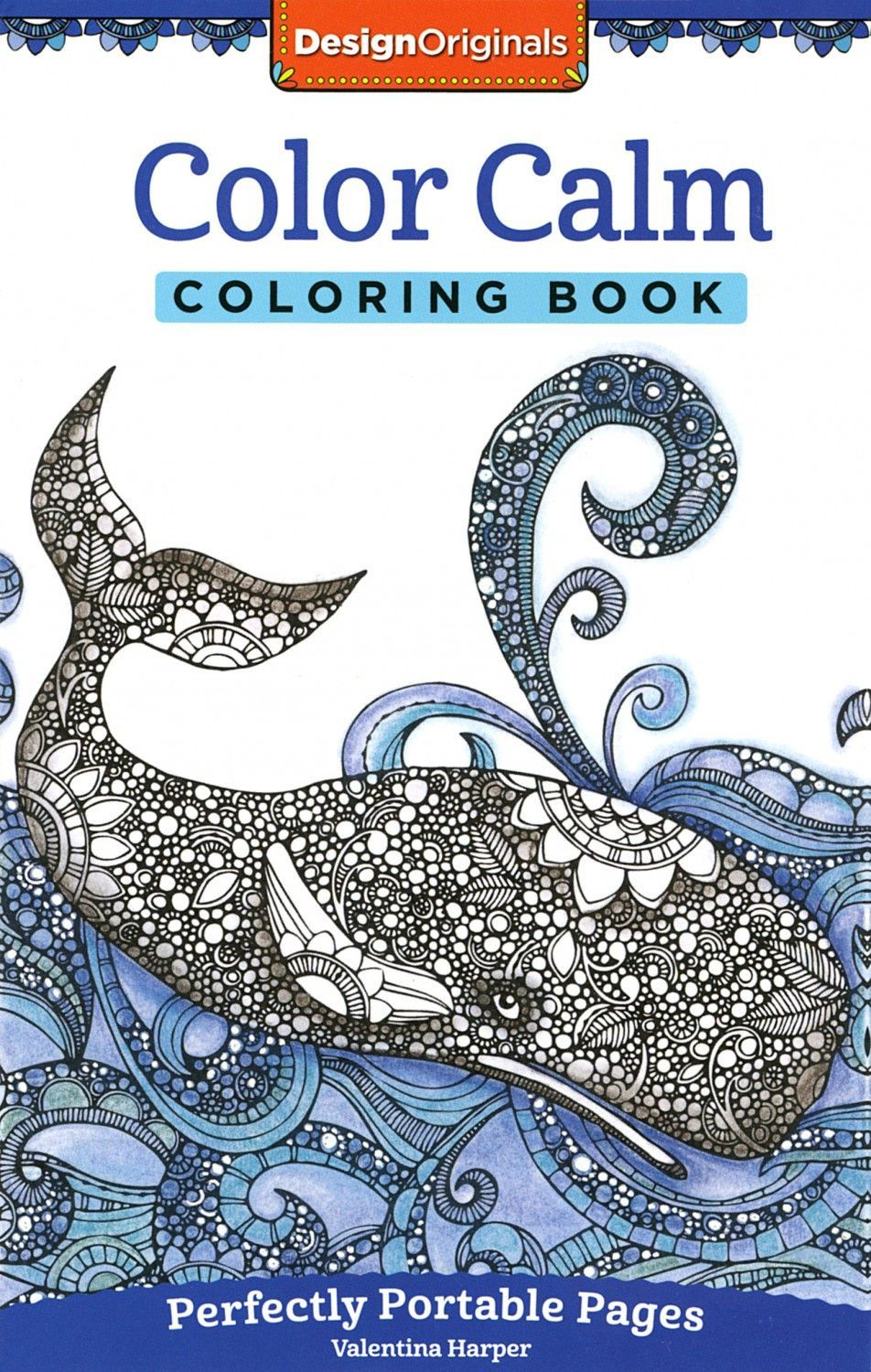 Design Originals Color Calm Perfectly Portable Coloring and ...