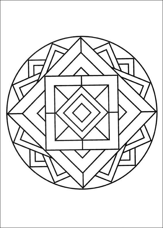 Disegni Da Colorare Mandalas 59