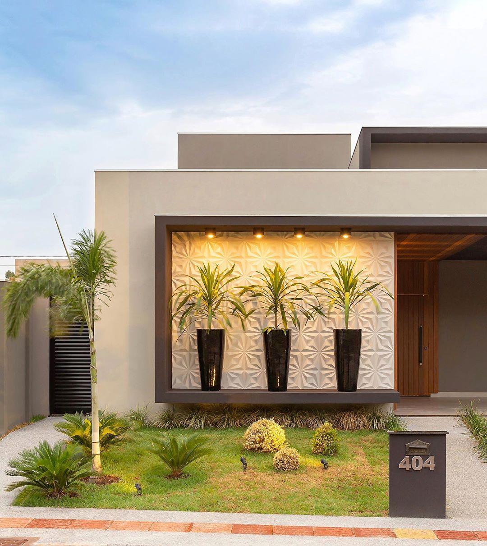16 Fachadas de jardines para casas