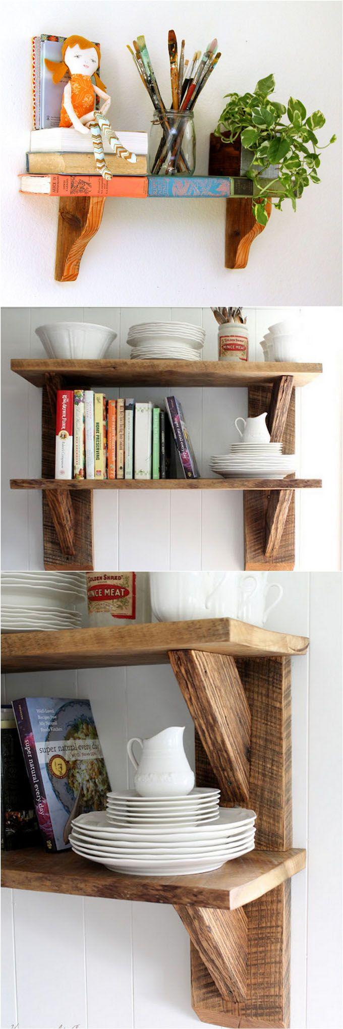 16 Easy And Stylish Diy Floating Shelves Amp Wall Shelves