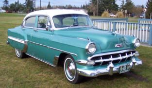 1954 Chevrolet DeLuxe From the website link on the photo you can view classic Ch…