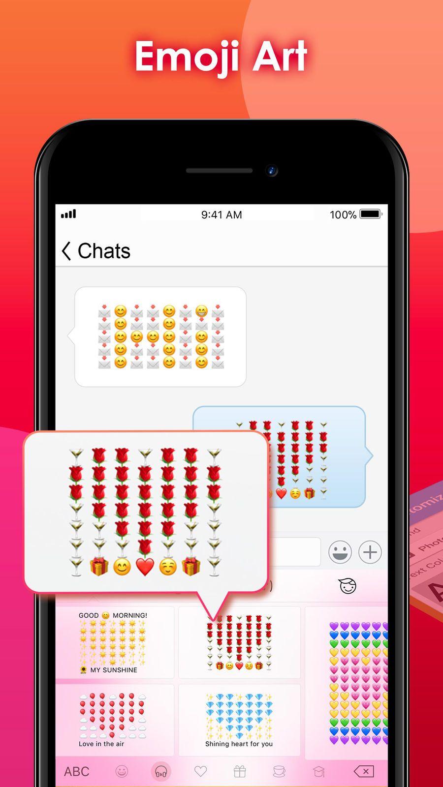 TouchPal Keyboard NetworkingSocialappsios Emoji
