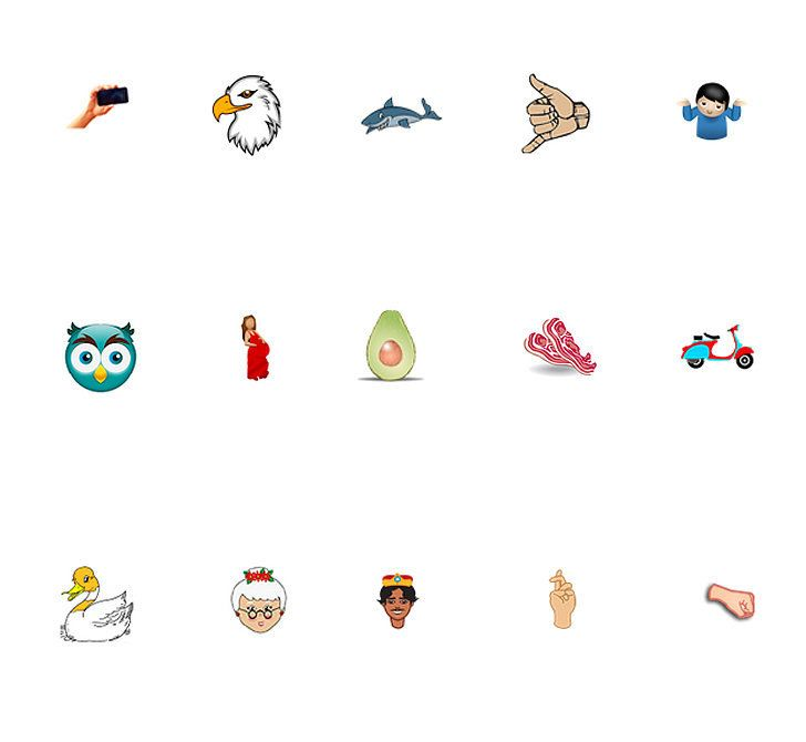 72 New Emoji Are Coming, Including an Avocado!   Tech