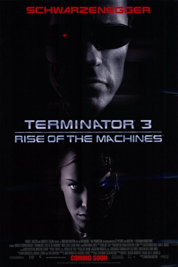 Terminator 3 Rise Of The Machines 11x17 Movie Poster 2003