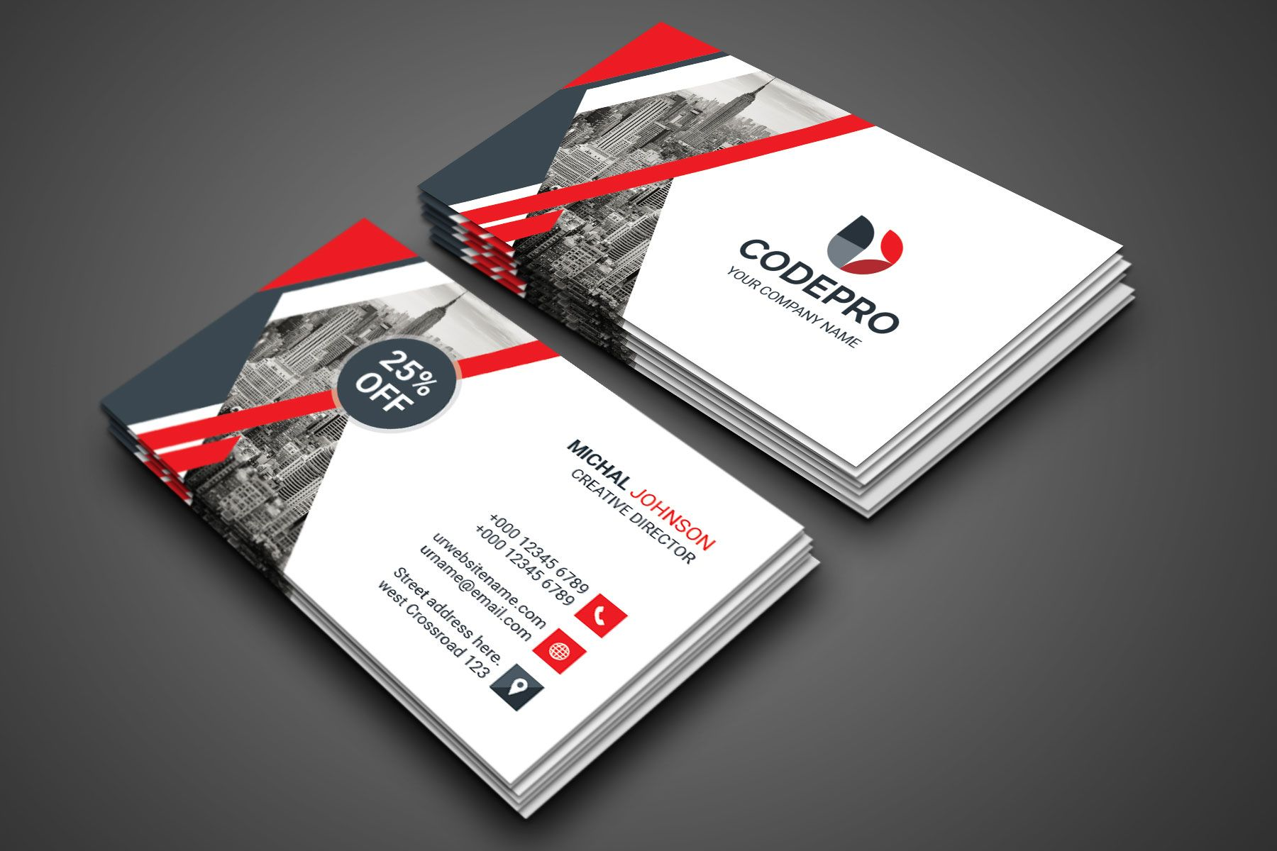 Psd Excellent Business Card Graphic Prime Graphic Design Templates Business Card Graphic Business Card Template Psd Professional Business Card Design