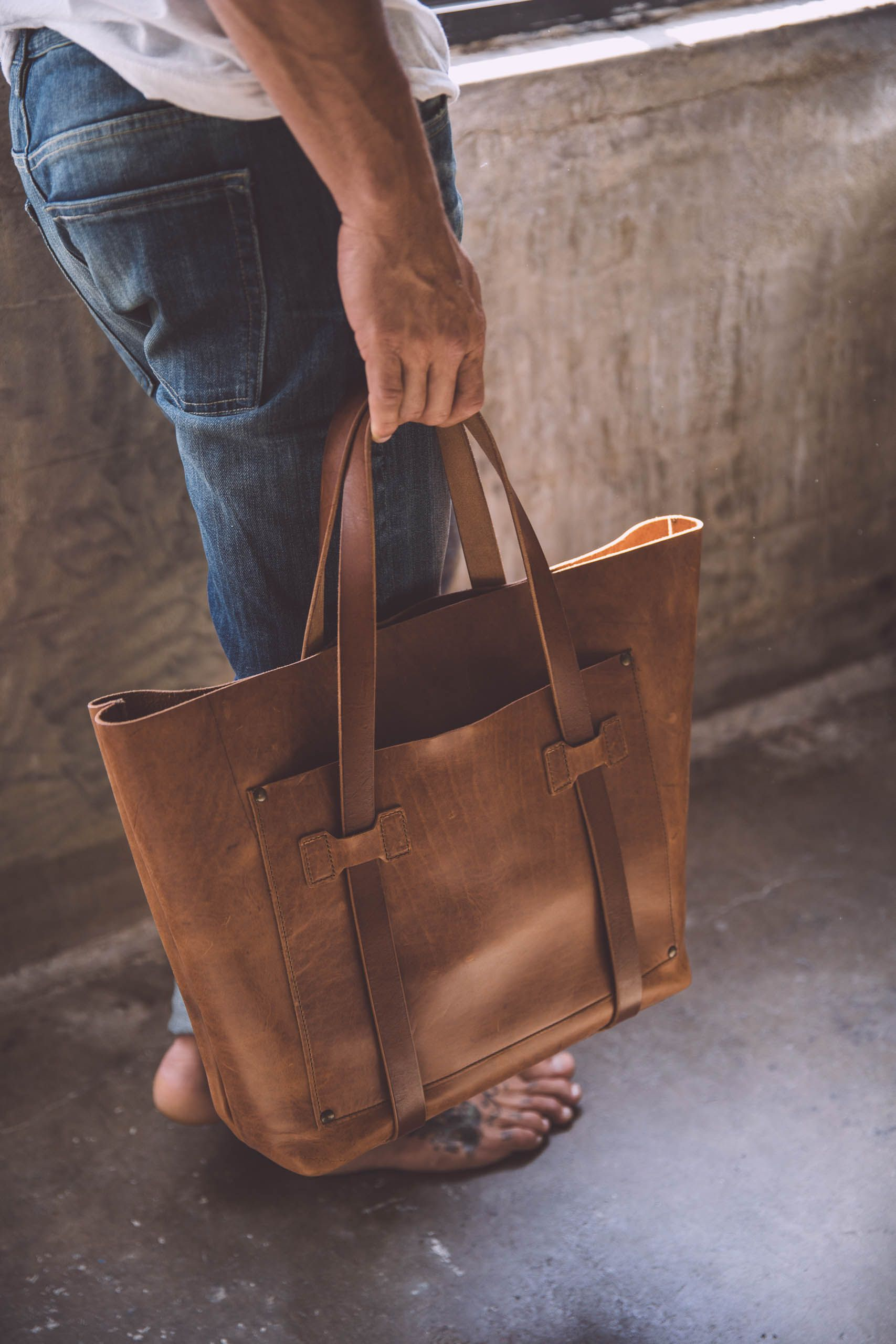 36f4ef388 Cargo Tote Bag | Leather Bags and Accessories - WP Standard | Bags ...