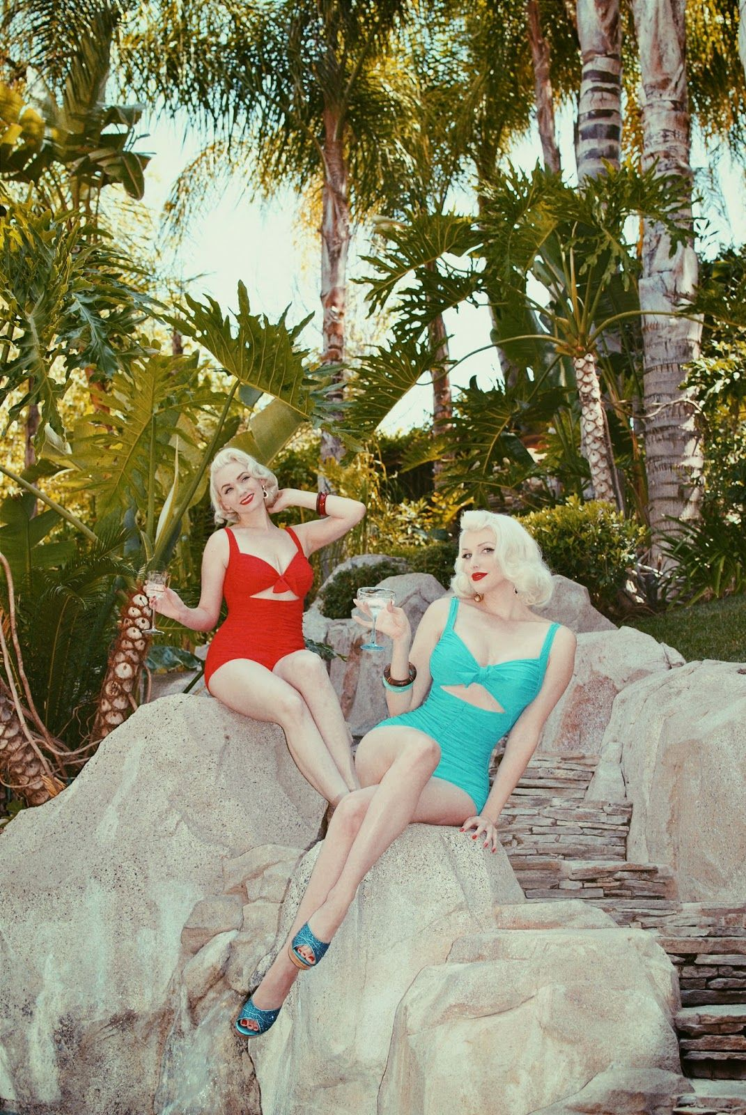 Vintage Blog Of Burlesque Bombshell And Platinum Pinup Tara