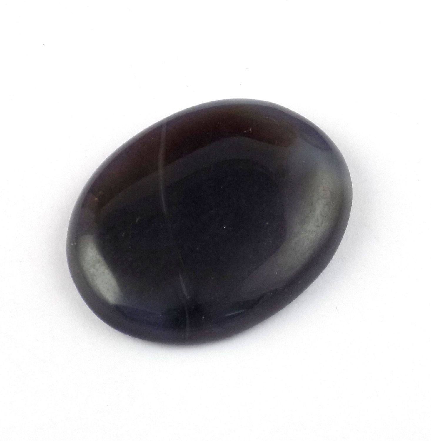 1 Piece Natural Agate 27x35mm Oval Cabochon Gemstone,Handmade Jewelry Making Smooth Genuine Rare Gemstone by UGCHONGKONG on Etsy