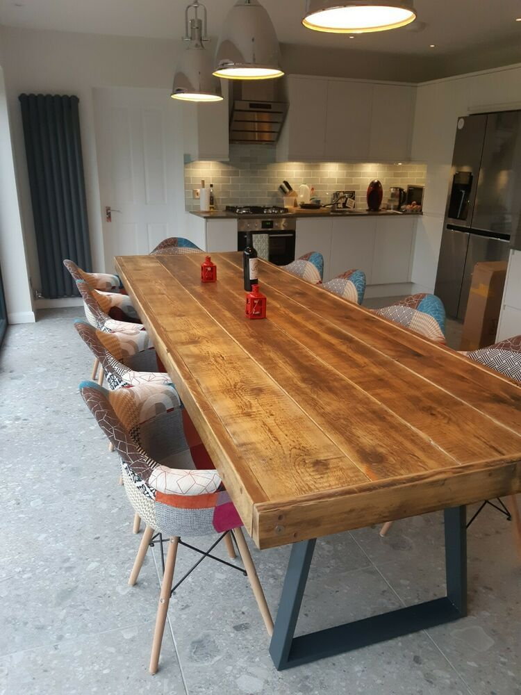 Bespoke Industrial Style Dining Table See Size And Price
