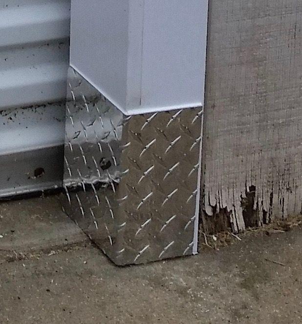Aluminum Diamond Plate Bend Corner Guard Angle Sheet Metal Diamond Plate Corner Guards Aluminum