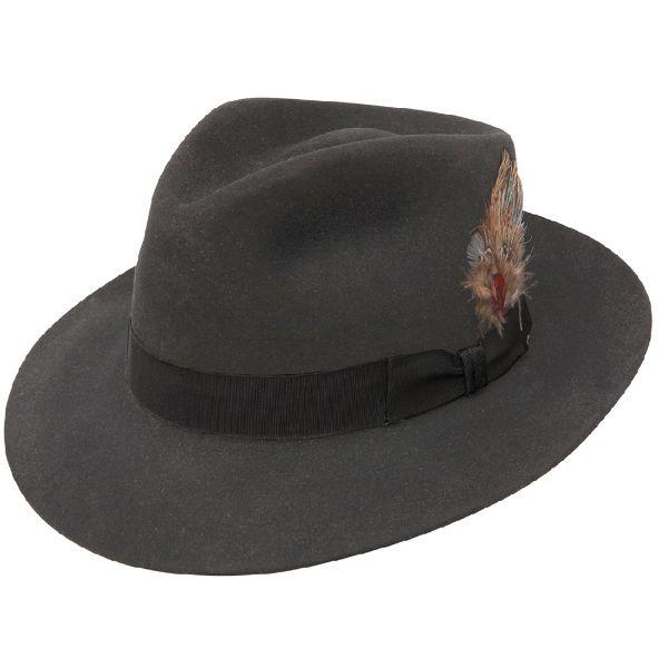 Stetson Chatham Fur Felt Fedora   DelMonico Hatter
