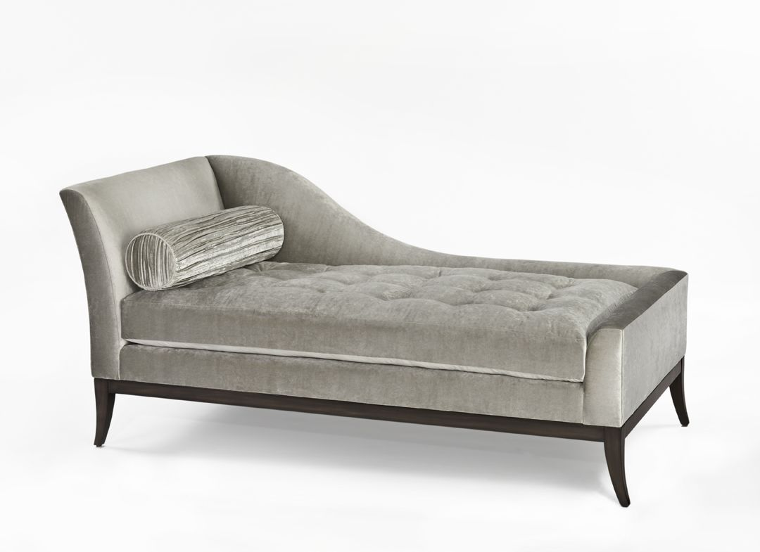 Delicieux Lily Jack Noir Collection Single Arm Chaise With Bolster