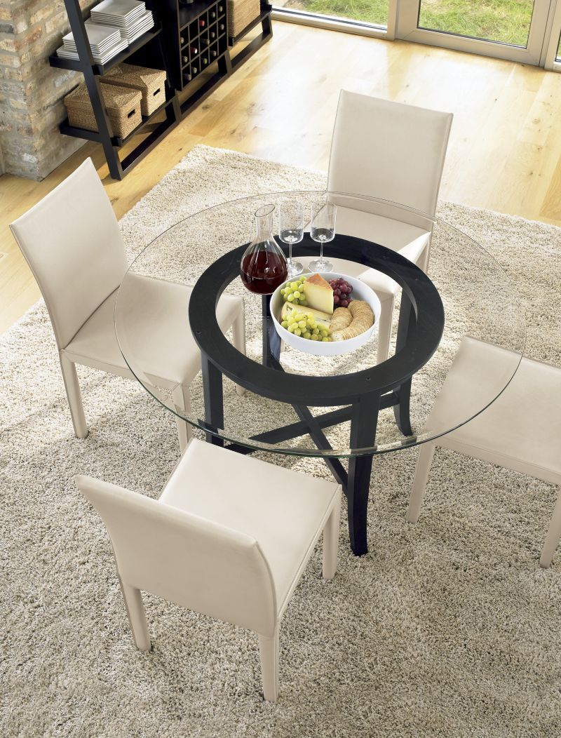 Simple Round Dining Table Simple 60 Round Dining Table Sunglass