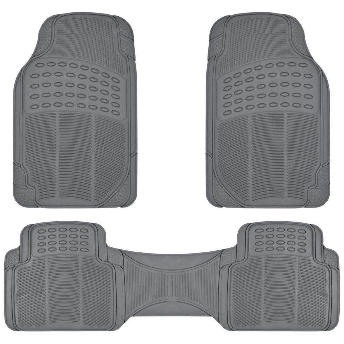 Weathertech floor mats amazon ca - Amazon Com Proliner Gray All Weather Rubber Auto Floor Mats Liner Heavy Duty