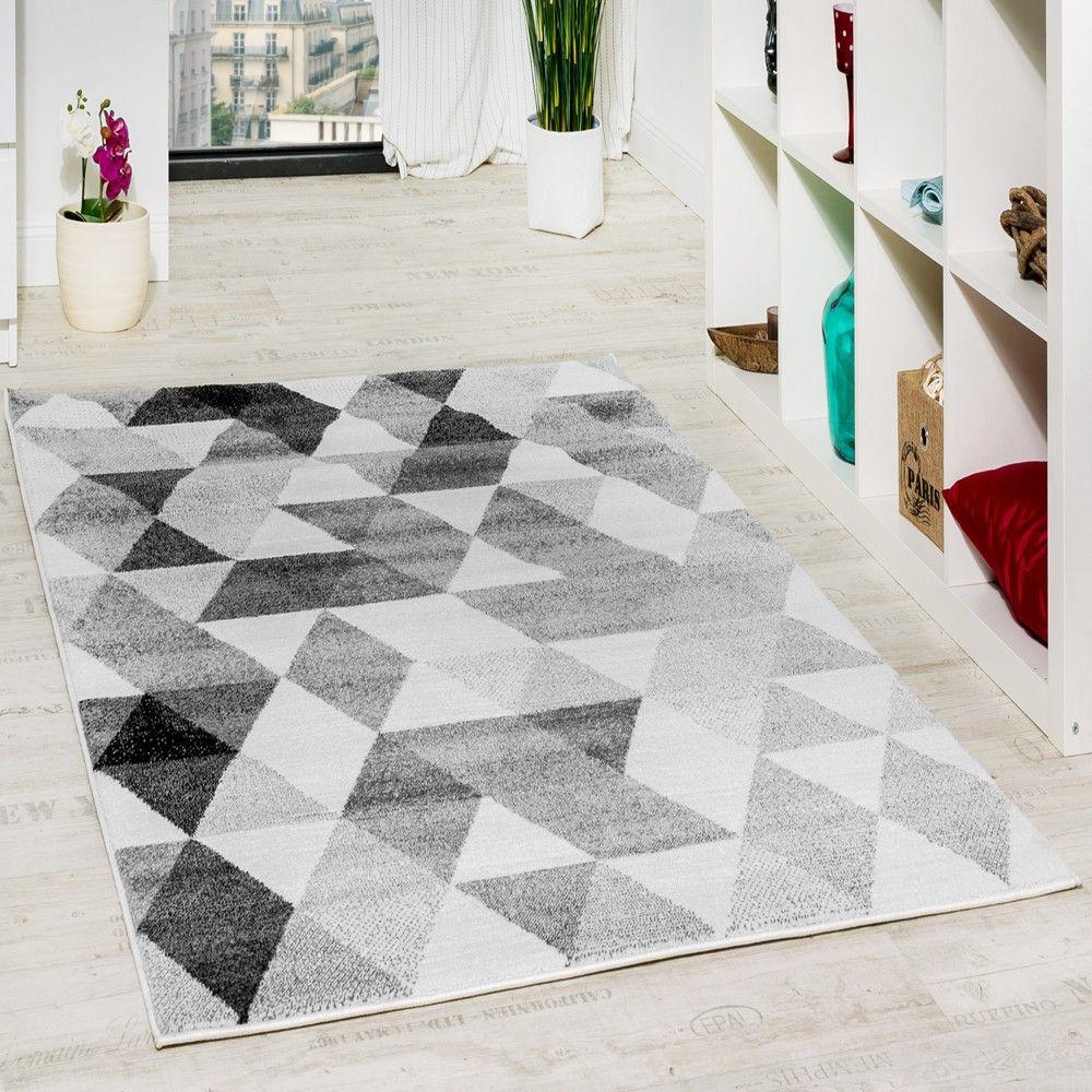Teppiche Designer designer teppich grau geometrisch grau schwarz creme ausverkauf wohn