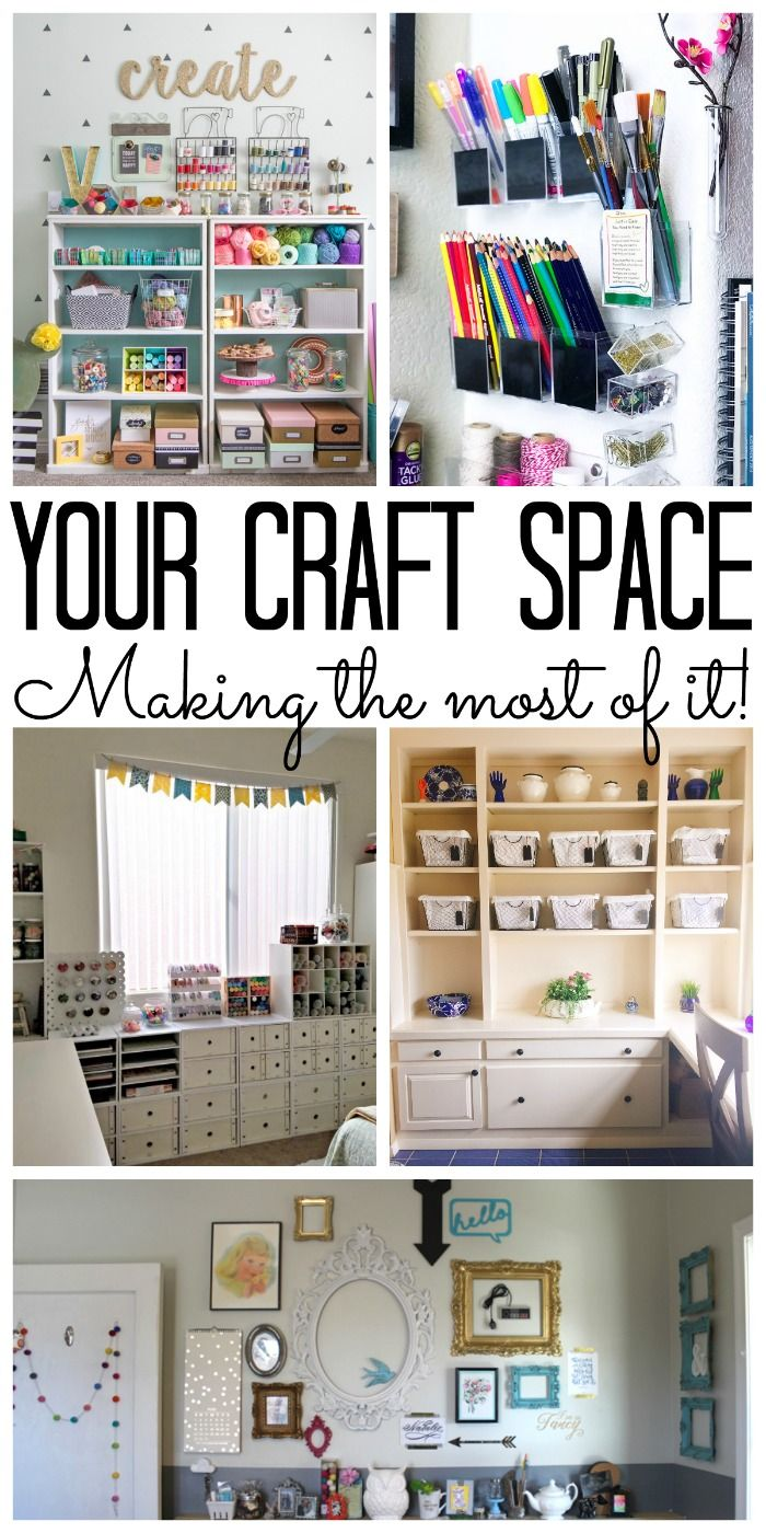 Craft Space: Making The Most Of Any Area | Small Spaces, Organizations And  Spaces