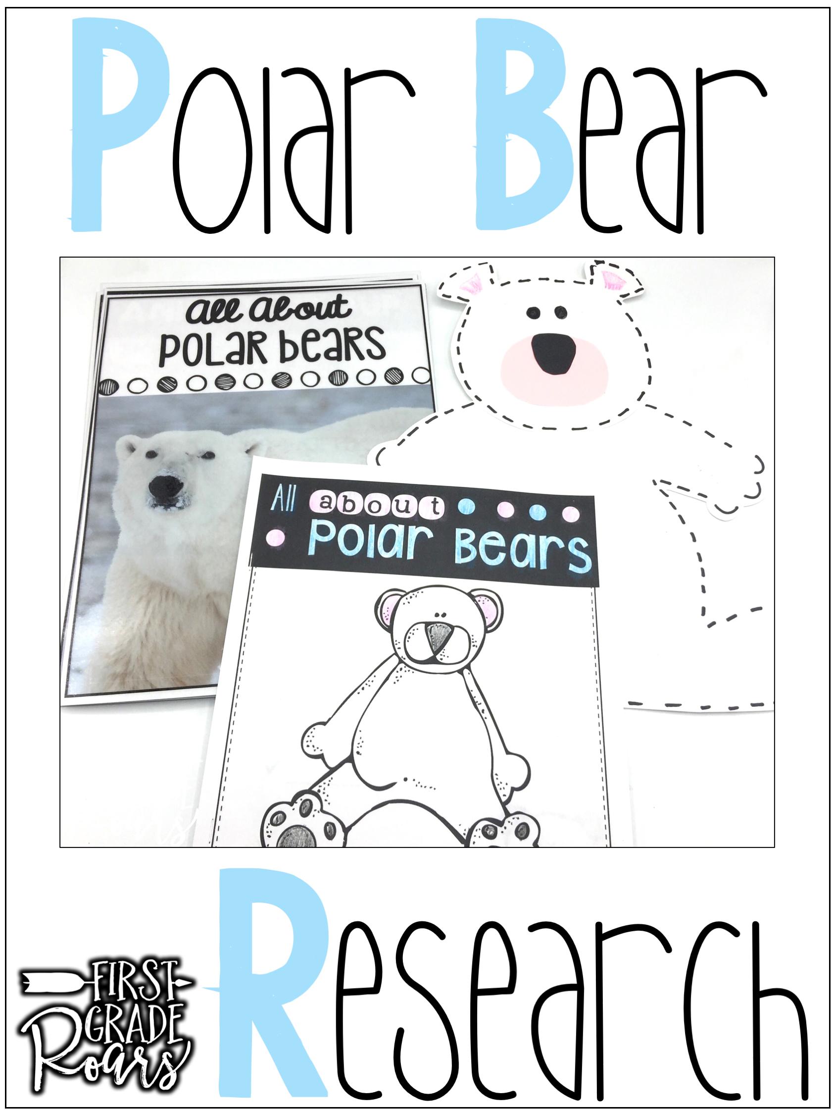 Arctic Polar Bears Informational Text Reading Writing