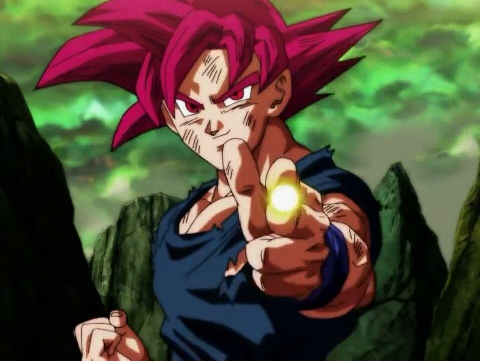 Goku Ssj God Fighting With Kefla In Tournament Of Power