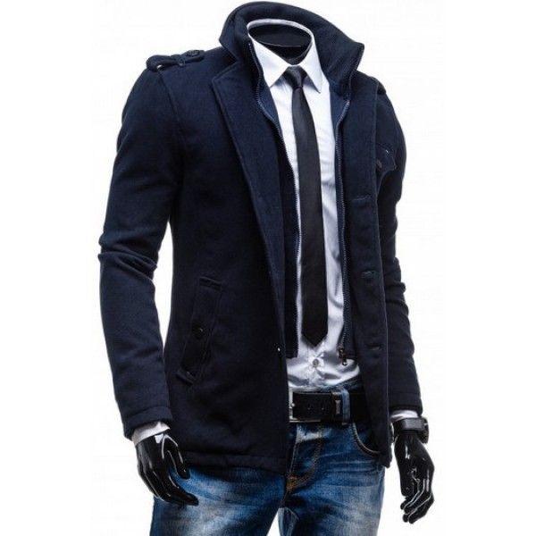 fd0a7a00e8 Klasický elegantný pánsky kabát