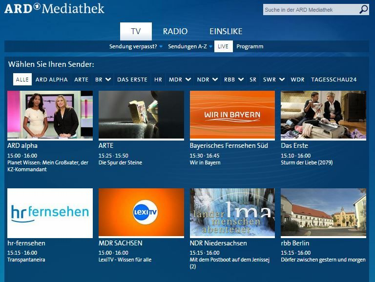 How To Watch German Tv Online In Your Browser Or Mobile Device Live Tv Streaming Online Streaming Live Tv