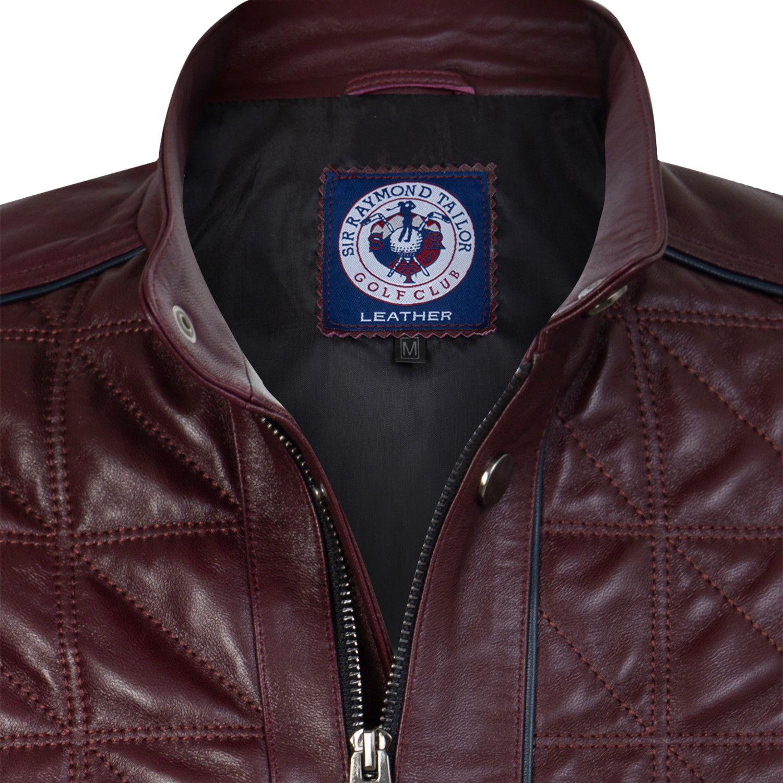 Lineout Leather Jacket Burgundy Leather Jacket Jackets Fashion Marketing [ 1500 x 1500 Pixel ]