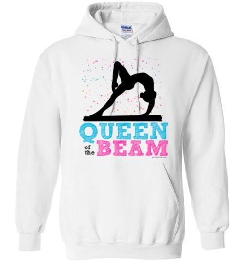 Cute gymnastics hoodie sweatshirt that says d7b77e56e
