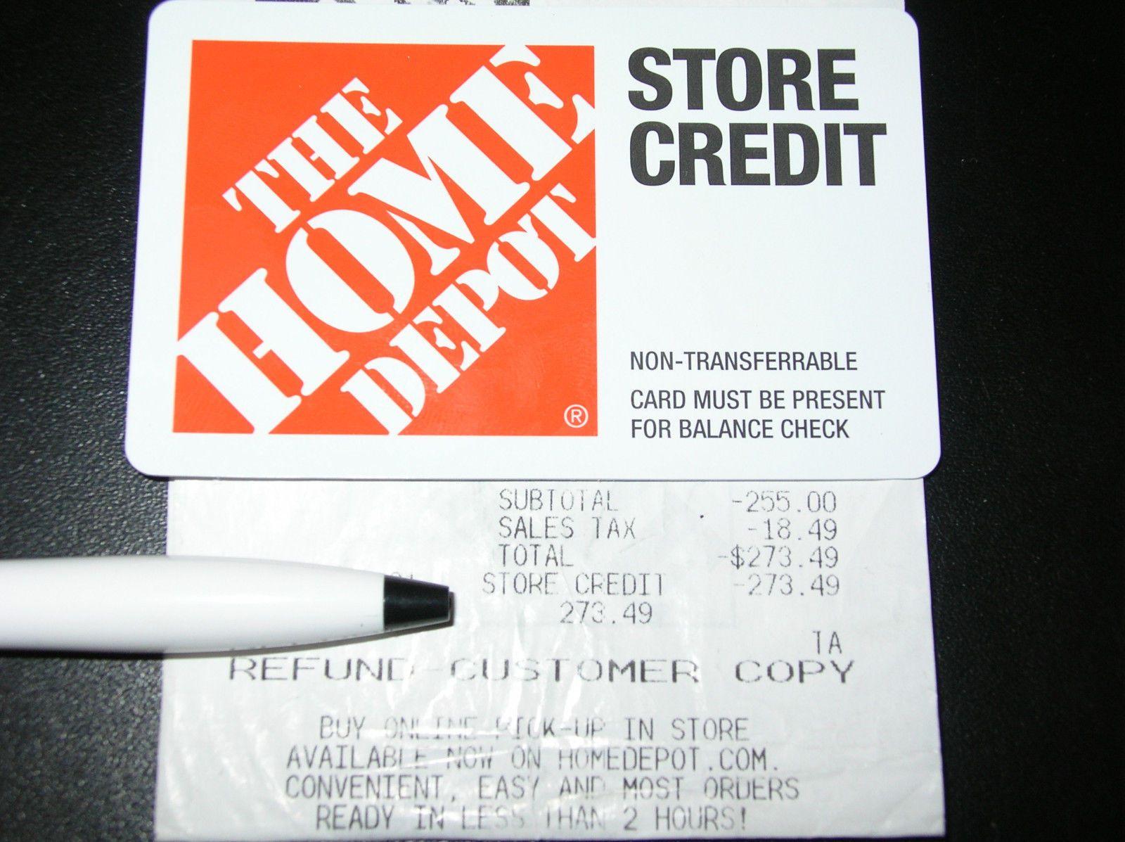 home depot gift card balance phone number