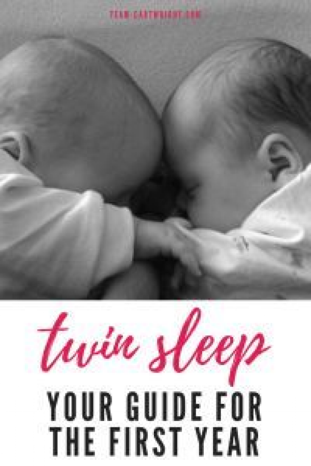 Twin Sleep: Your guide for the first year.  Everything you need to know about getting your twins to sleep.  Twin beds twin cribs naps nighttime sleep safety.  Help from a real twin mom.  #twins #baby #naps #sleep #eatplaysleep #twinnap #twinsleep #twincribs #safesleep Team-Cartwright.com #sleeptraining #sleep #training #babywise