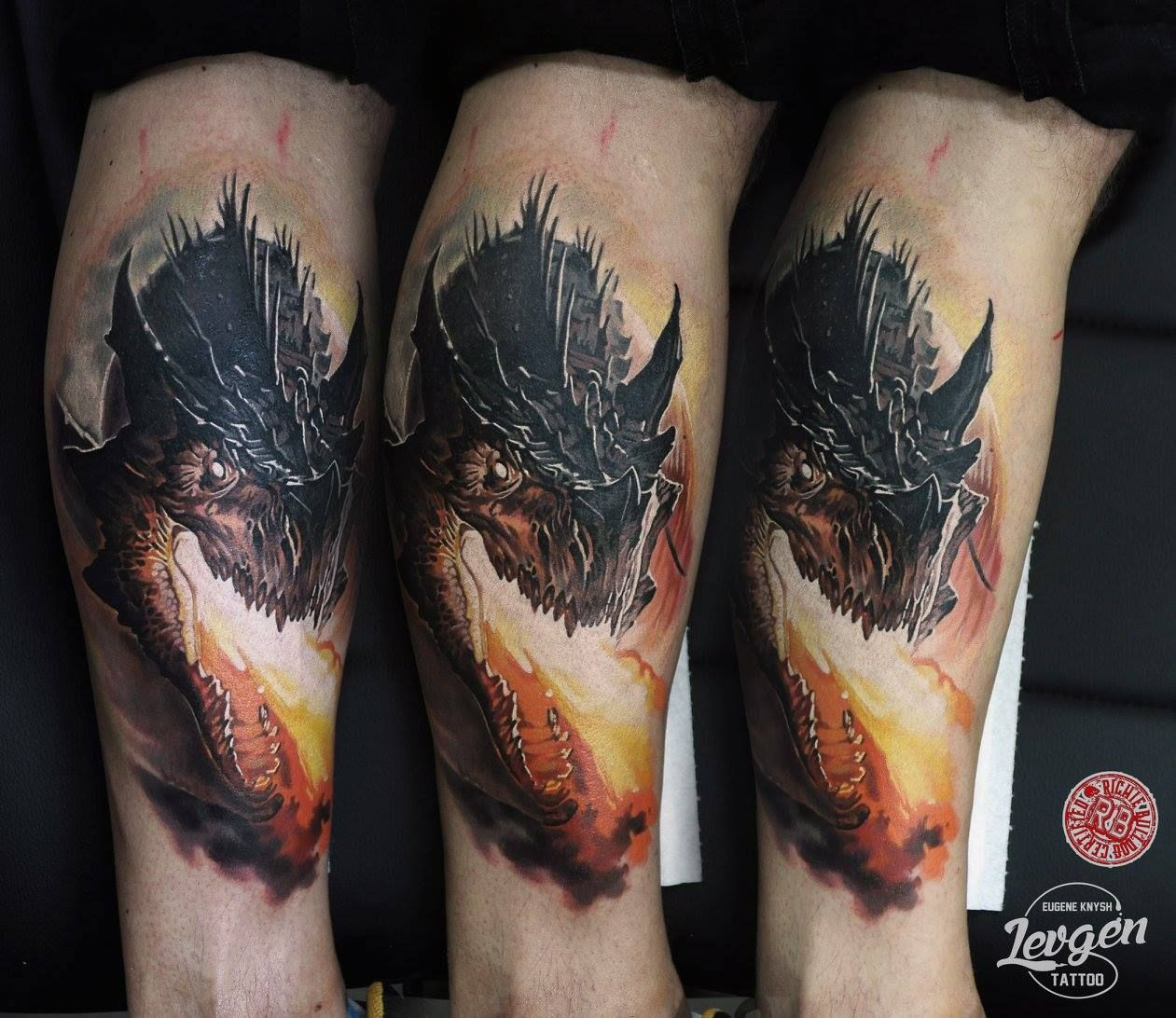 Levgen Mythical Creatures Tattoos Tattoo Artists