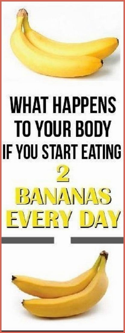 If You Eat 2 Bananas Per Day For A Month, This Is