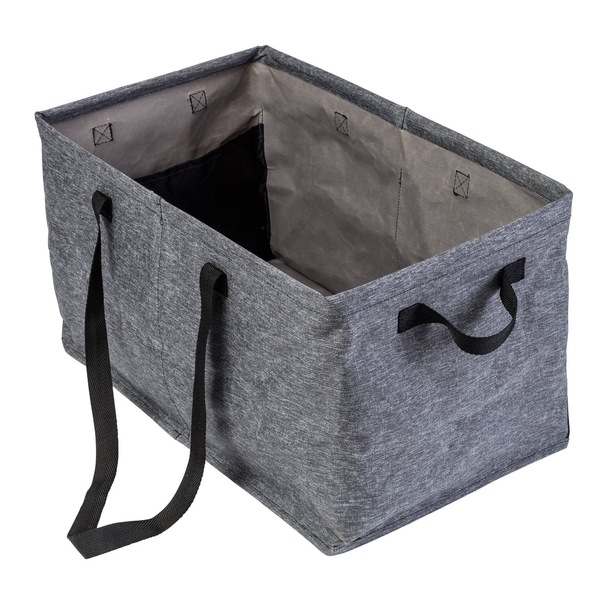Honey Can Do Small Trunk Organizer Gray Trunk Organization Cars