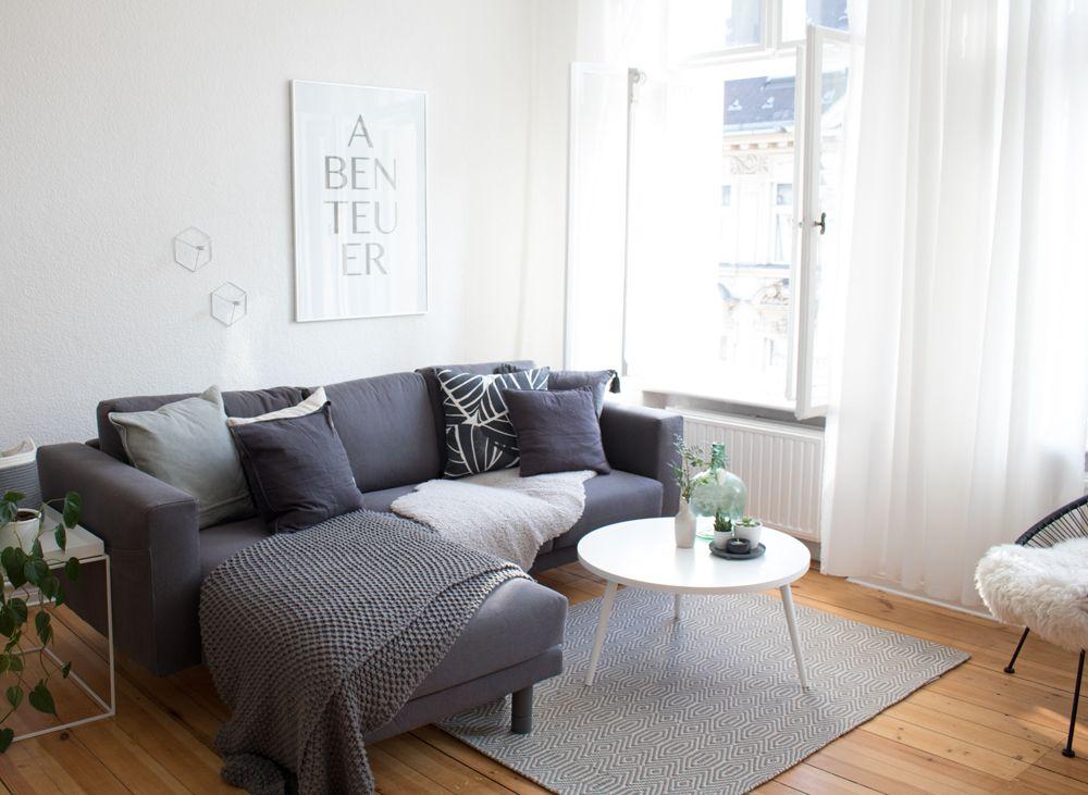 das wohnzimmer im neuen heim | hüte und oder - Skandinavisch Wohnen Wohnzimmer