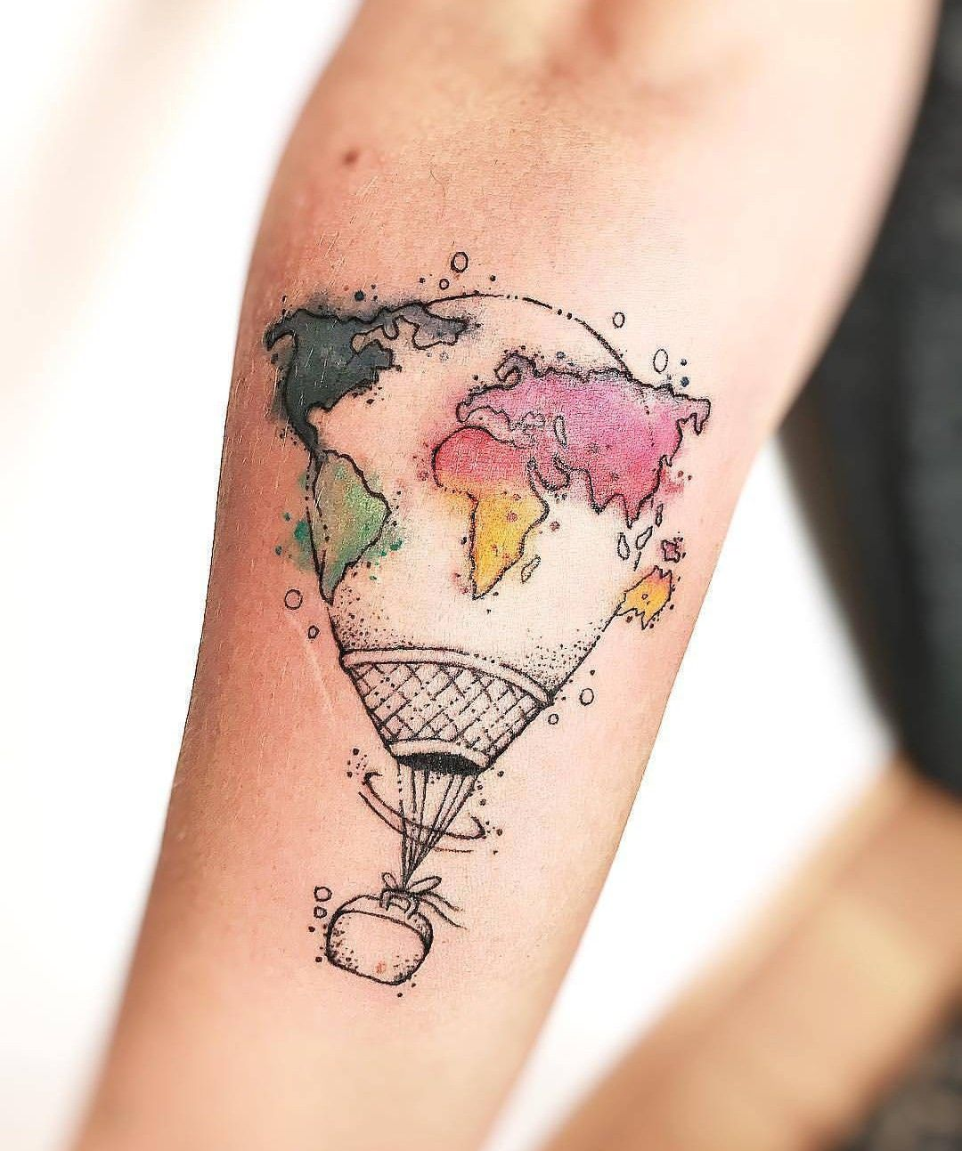 Pin by karina flores on tattoos tattoos watercolor