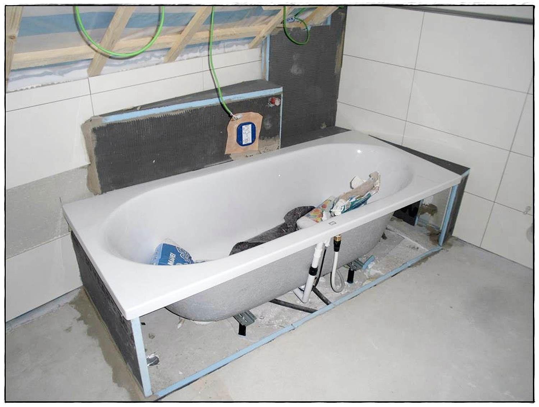 Badewanne Duschwanne Einbauen Ohne Silikon Bettezarge Bathtub